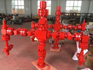 Forging Type Production Tree Oil And Gas , Surface Wellhead And Christmas Tree