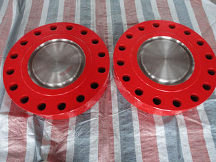 "China 3 1/8"" X 5000 Psi Alloy Steel Blind Flange Christimas Tree Wellhead Connector supplier"