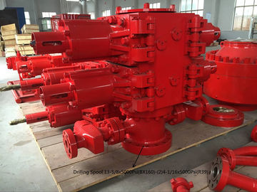 China 7 1/16-5000PSI Double Ram Blowout Preventer , Hydraulic BOP In Oil Industry supplier