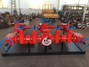DD-NL Material Class API Diverter Manifold With Hydraulic Gate Valve