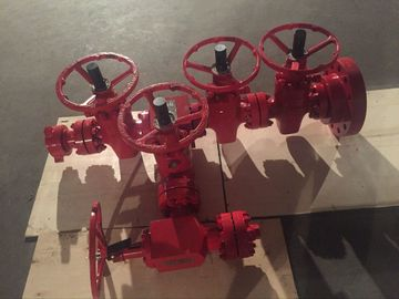 "China Wellhead Pressure Control Equipment High Pressure Kill Manifold 4 1 / 16 "" -5000psi supplier"