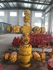 "China API6A Oil Well Xmas Tree Wellhead Solid Block 4 1/16""-10M PR1 PSL3 FF-0.5 supplier"