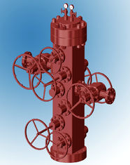 Conventional Wellhead Christmas Tree Equipment For Oil And Gas High Strength