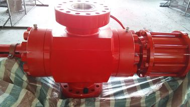 China Red Wellhead Surface Safety Valve , FC Hydraulic Gate Valve With Manual Operation supplier