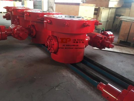 Flanged Top Slip On Bottom Wellhead Casing Head For Well Drilling