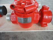"China DD Material Oil Wellhead Valves / High Pressure Plug Valve 2"" X Fig 1502 factory"