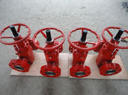 "China Well Flow Control FC Wellhead Valves 2 1/16"" X 10000 Psi Alloy Steel factory"