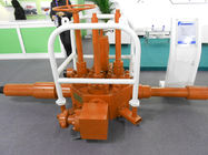 China PLS 3 Production Level Oil Well Testing Equipment API 6A Flowhead Surface Test Tree factory