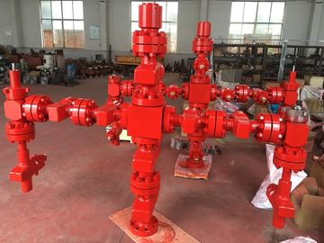 China Forging Type Production Tree Oil And Gas , Surface Wellhead And Christmas Tree factory