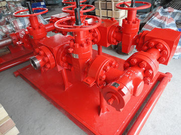 "China 3 1/16"" x 10000# Surface Well Testing Equipment choke manifold oil and gas Testing factory"