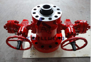 China Class EE Material Tubing Head Spool With Tubing Hanger Wellhead Equipment factory