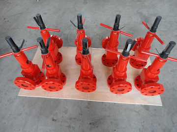 "Adjustable Type Wellhead Valves AA Material Class 2 1 / 16"" - 3K Anti Corrosive"