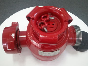 "China Oil Well Drilling Operation Wellhead Plug Valve 1"" Fig 1502 Wing To Thread Connection factory"