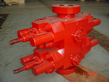 China Hydraulic Cameron Blowout Preventer , Oil Well Bop Double RAM 9″ / 11″ / 13 5/8″ factory