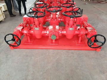 Oil Well Testing Service Oil Wellhead Parts High Pressure Choke And Kill Manifold
