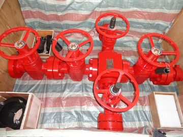 "China 70Mpa Wellhead And Christmas Tree Equipment 3 1/16""X2 1/16""-10M PR1 PSL3 EE factory"