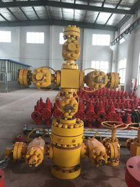 "China API6A Oil Well Xmas Tree Wellhead Solid Block 4 1/16""-10M PR1 PSL3 FF-0.5 factory"