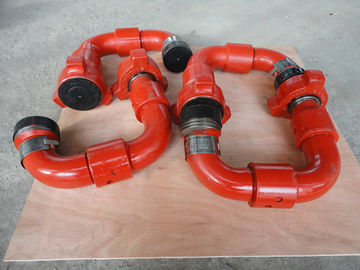 China Integral Alloy Steel Pipe Fittings Chiksan Swivel Joint For Oil Well Cementing Operation factory