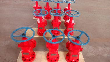China Anti Rust Wellhead Xmas Tree Valve / API 6A Welded Oil And Gas Choke Valve factory