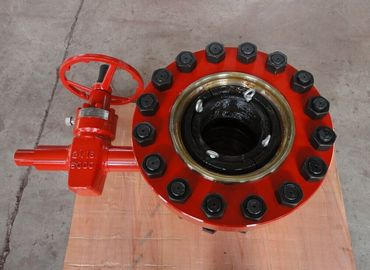 "China Alloy Steel Wellhead Casing Head House For Oil Production 20 3/4"" X 3000 Psi factory"