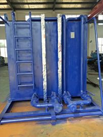2 Compartment Oil Well Testing Equipment Gauge Tank 2x50bbl Atmospheric