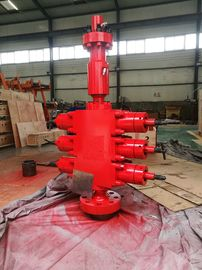 "China Vertical Triple Ram Wireline BOP Preventer 3FZ 76/35 Hydraulic Operated 4 3/4"" ACME factory"