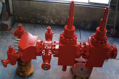 "4 1/16"" X 10000psi Wellhead Christmas Tree For Oil Well Fracturing Operation API 6A"