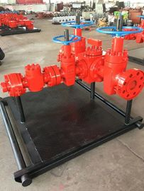 "Testing Well Wellhead Manifold For Diverting API 16C DL 3 1/16""-10M"