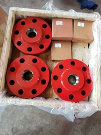 "China AISI 4130 Forged Steel Companion Flange For Oil Wellhead Equipment 4 1/16"" factory"