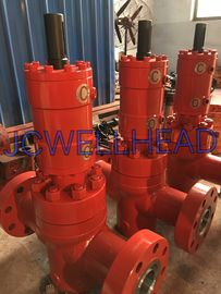 China API 6A Wellhead Valves Hydraulic Operated Gate Valve PFFY130-35 Rising Stem factory