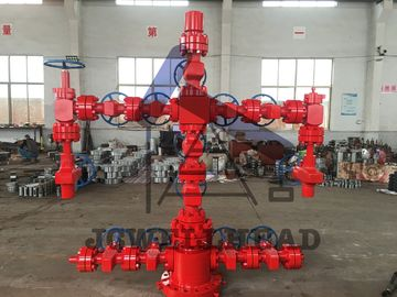 "China 900 Series Wellhead Christmas Tree Dual Wing Xmas Tree With 5 1/2"" Casing Seal factory"