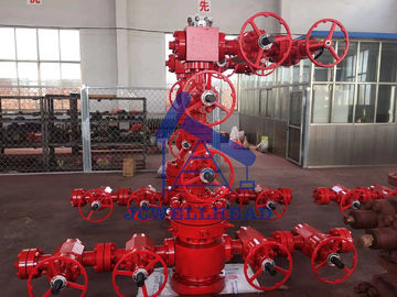 China Oil Well Flow Control Gas Well Christmas Tree 3000 Psi Pressure API 6A Standard factory