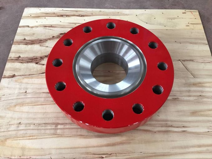 Durable Oil Drilling Spool Adapter Flange , 15000 Psi High Pressure Flange