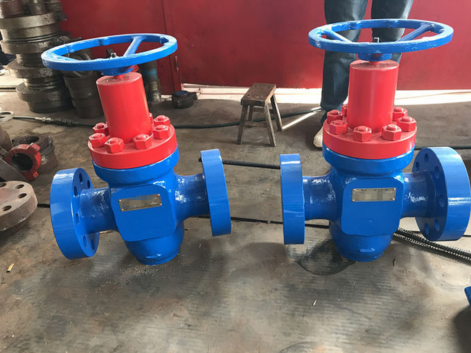 WKM Expanding Manual Gate Valve , Alloy Steel Valves For Oilfield Service