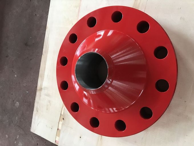 API 6A Type 6B Welded Neck Flanges Wellhead Crossover High Strength